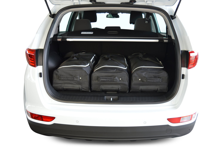 kia sportage ql 2015 actual bolsas para maletero. Black Bedroom Furniture Sets. Home Design Ideas